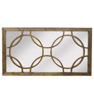 Deco Wall Mirror - Reclaimed Pine