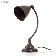 Brentwood Table Lamp - Brass Dark