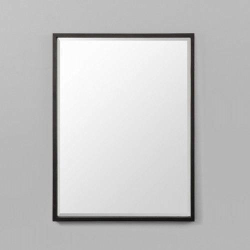Onyx rectangle mirror mirrors warranbrooke for Brooke mirror