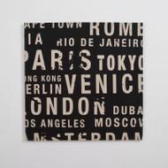 Canvas Print: Big City Black