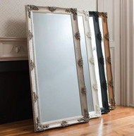 """Abbey Leaner Mirror Silver 65x31"""" Gallery Direct"""