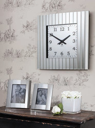 "Metropolis Wall Clock 20x20"" Gallery Direct"
