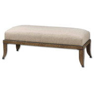 Lanrada Bench by Uttermost