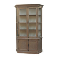 Bella House Geneva Display Cabinet - French Oak