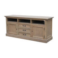 Bella House Geneva TV Cabinet 170cm - French Oak