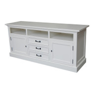 Bella House Geneva TV Cabinet 170cm - White