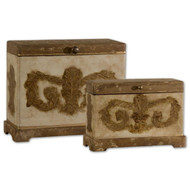 Scotty Boxes - Set of 2 by Uttermost