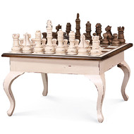 Gentleman's Chess Table w/ Chess Set