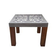Beton Square Side Table