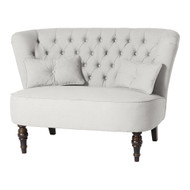 Monarch 2 Seat Sofa - Rustic Cream