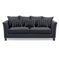 Andre 3 Seat Sofa With Cushions