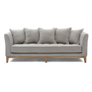 Elise 3 Seater Sofa With Cushions