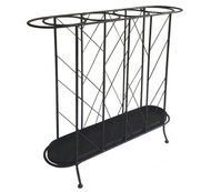 Iron Leaf Umbrella Stand