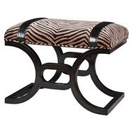 Kadir Small Bench by Uttermost