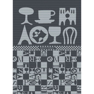 Tea Towel BISTROT NOIR
