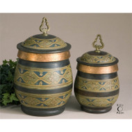 Cena Canisters - Set of 2 by Uttermost