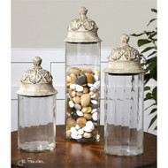Acorn Canisters - Set of 3 by Uttermost