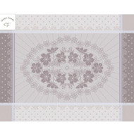 Placemats ROSES ANCIENNES Ficelles (Set of 4)