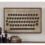 Antique Keyboard a  by Uttermost