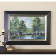 Forest At Dawn a Prints Framed by Uttermost