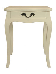 Josephine Bedside Table (Antique White)
