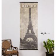 Eiffel Tower Paris a Prints Canvas by Uttermost