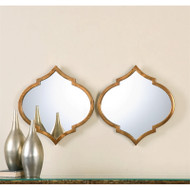 Jebel Mirrors - Set of 2 by Uttermost