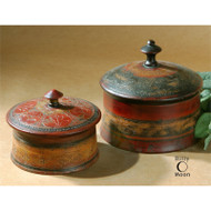 Sherpa Boxes - Set of 2 by Uttermost