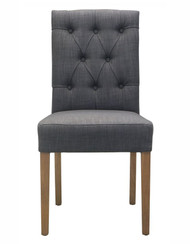 Bella House Paris Dining Chair - Slate Grey