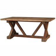 Riverwalk X-Base Dining Table 180cm - Size: 76H x 183W x 102D (cm)