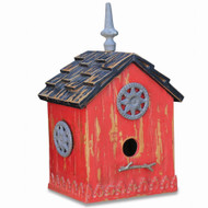 Bird House D - Size: 51H x 33W x 25D (cm)