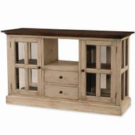 Cape Cod Kitchen Island w/ Wood Top - Size: 90H x 150W x 56D (cm)
