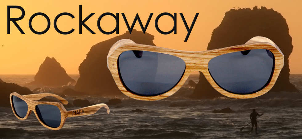 Butterfly Zebrawood Sunglasses