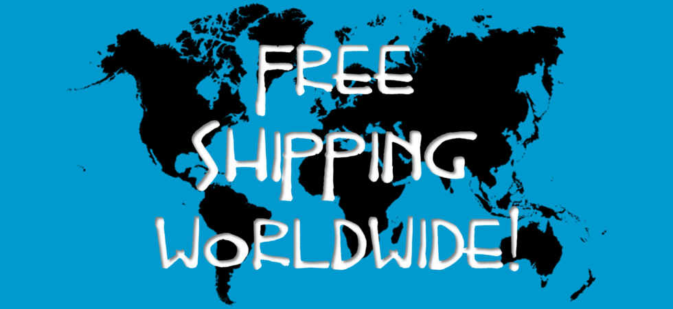 Free Shipping Worldwide!