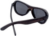 Rockaway Butterfly Polarized Ebony Wooden Frame Sunglasses Back