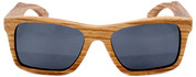 Cloudbreak Polarized Square Zebrawood Sunglasses Straight