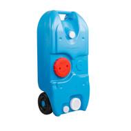 40L Portable Wheel Water Tank - Blue