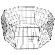 30 Inch 8 Panel Portable Pet Exercise Playpen