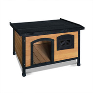104 cm Timber Wooden Outdoor Pet Kennel with Elevated Floor