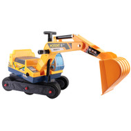 Kids Ride On Excavator Yellow