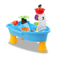 Kids Sand and Water Table Boat Play Set