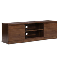 TV Stand Entertainment Unit with Storage - Walnut