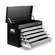 9 Drawer Mechanic Tool Box - Black & Grey