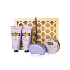 Passionfruit & Lime Wooden Gift Set