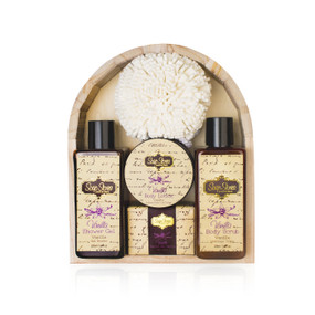Vanilla Wooden Gift Set