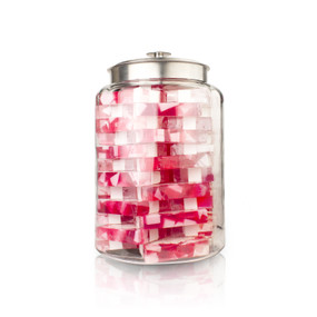 Raspberry Soap Jar