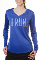 Final Stretch Women's Long Sleeve Tech Tee