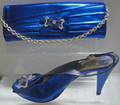 Andrea Massari Italian Shoes and Bag: Royal Blue