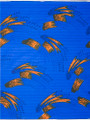 Vlisco Wax Block - Heavy Rain Blue