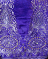 Premium Velvet George - Purple